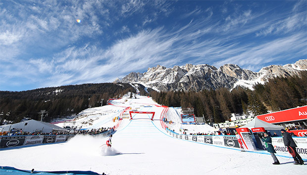 Cortina d'Ampezzo freut sich auf die SKI WM 2021 (Foto: © Archivo FISI/Alessandro Trovati/Pentaphoto)
