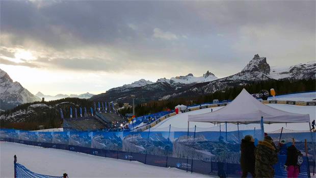 SKI WM 2021: Sonne und Schnee wechseln sich in der ersten WM-Woche ab (Foto: © Ch. Einecke (CEPIX) )