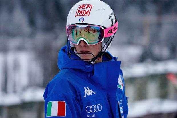 Chiara Costazza hängt die Skier an den Nagel (Foto: © Archivio FISI)