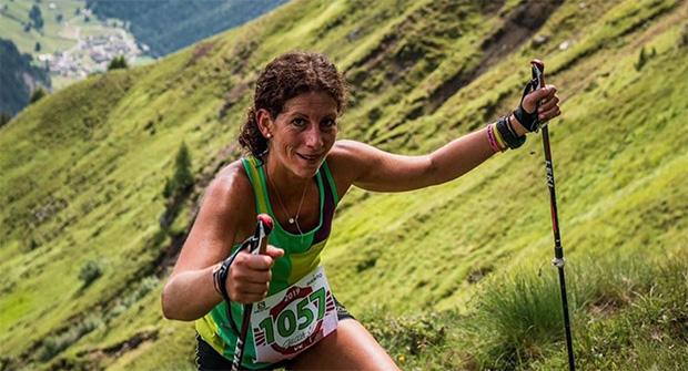 Ehemalige Slalomspezialistin Chiara Costazza überzeugt als Bergläuferin (© Chiara Costazza / instagram)