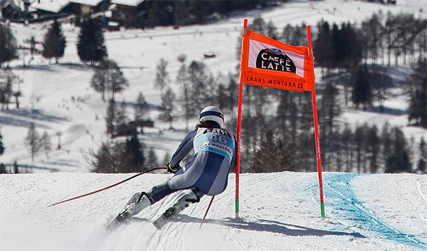 LIVE: 1. Abfahrt der Damen in Crans Montana 2020 (Freitag), Vorbericht, Startliste und Liveticker (© Archivio FISI/Gabriele Facciotti/Pentaphoto)