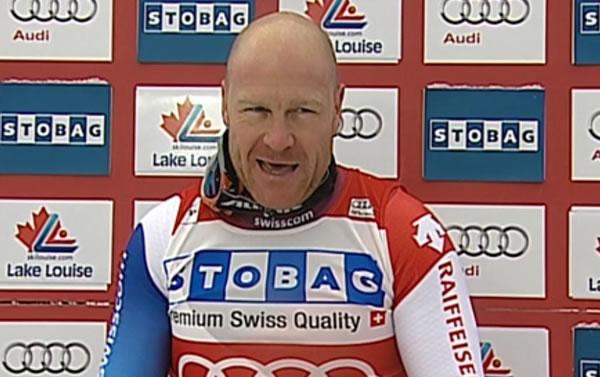 Didier Cuch auch beim Super G in Lake Louise der Favorit