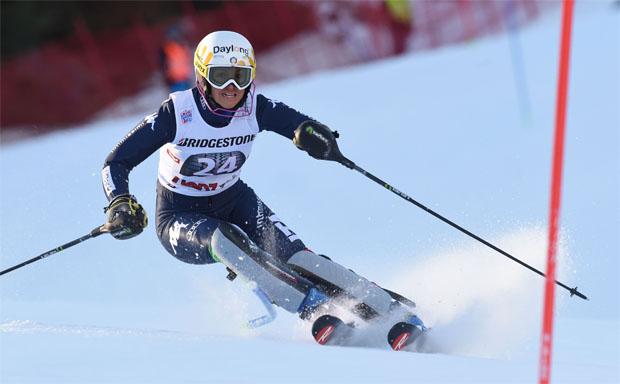 Irene Curtoni (ITA) ,  Slalom Lienz (Foto Archiv FISI: Pentaphoto/Pier Marco Tacca)