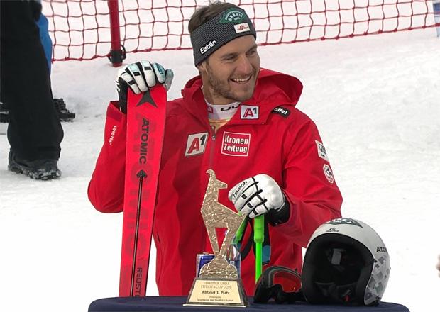 Daniel Danklmaier gewinnt Europacup-Abfahrt auf der Streif