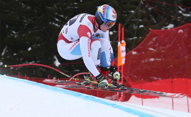 Davos: Europacup Speedrennen auf dem Jakobshorn