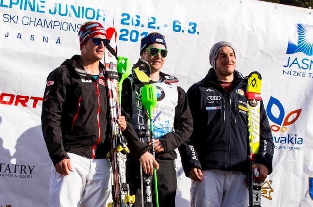 © jasna2014.sk / Matteo De Vettori - Rang 3 beim Junioren WM Super G