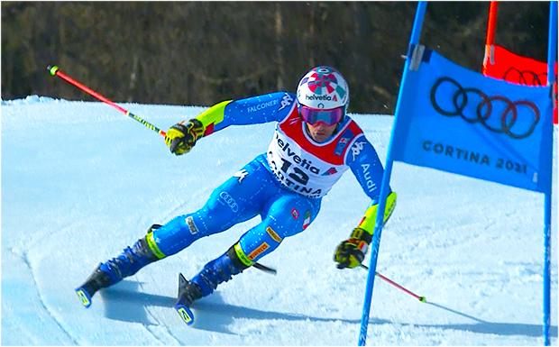 Die WM-Silbermedaille von Luca De Aliprandini soll die italienischen Riesentorläufer weiterhin beflügeln