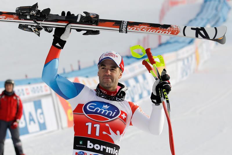 © PHOTOPRESS/Alexandra Wey: Defago Schnellster in Bormio - Stephan Keppler auf Platz 17