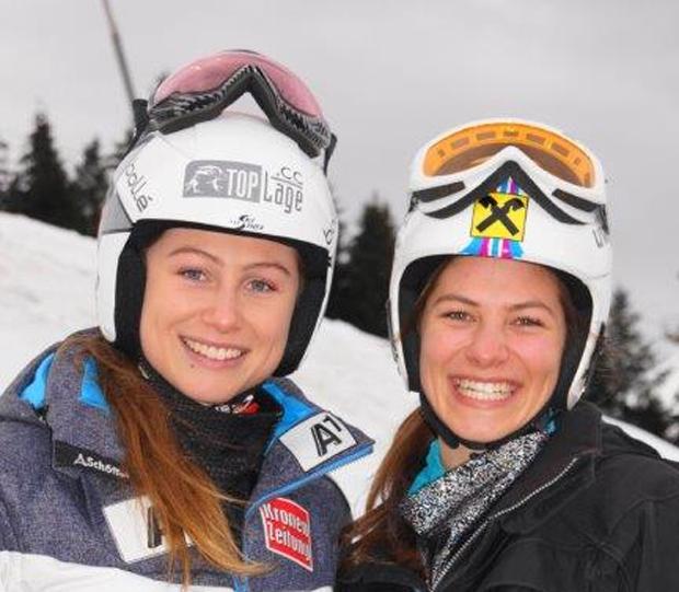 Die Schwestern Danja und Carina Dengscherz (Foto: privat)