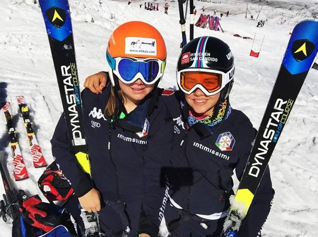Nadia Delago und Sabine Krautgasser (Foto: Nadia Delago / facebook)