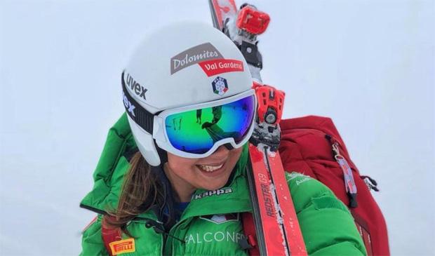 Nadia Delago feiert auf der Karl-Schranz-Piste ihr Weltcupdebüt (Foto: Nadia Delago / Instagram)