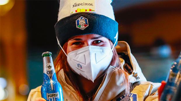 Ski-WM 2021: Nadia Delago komplettiert das azurblaue Abfahrtsquartett (Foto: © Archivio FISI/ Pentaphoto/ Gabriele Facciotti)