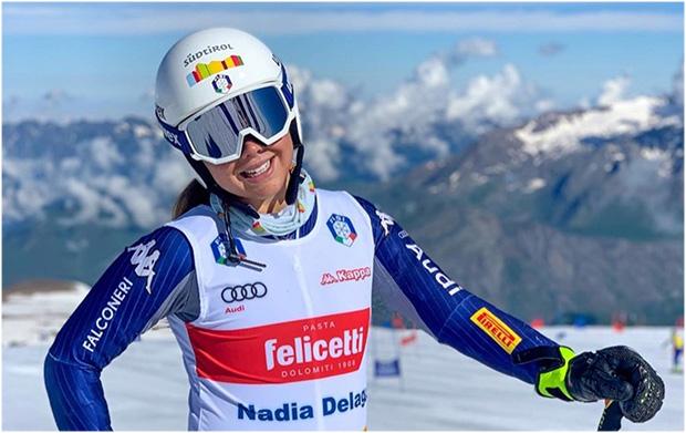 Nadia Delago will im Februar 2022 mit ihrer Schwester Nicol Olympiageschichte schreiben (Foto: © Nadia Delago / Instagram)