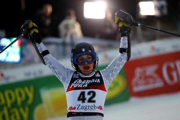 Lara Della Mea freut sich auf die Slalomeinsätze in Levi und Killington (© Archivo FIS/ Alessandro Trovati/pentaphoto)