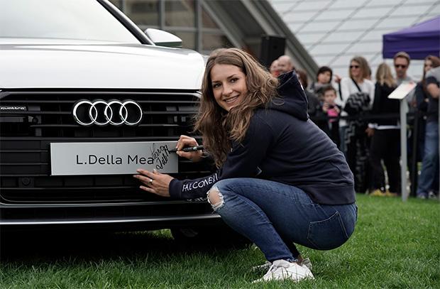 Lara Della Mea will im zweiten Levi-Durchgang dabei sein (Foto: © Archivo FISI/Giovanni Auletta/Pentaphoto)
