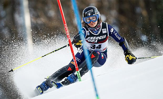 Lara Della Mea bedauert den Wechsel von Heini Pfitscher ins Swiss-Ski-Team (Foto: ©  Archivio FISI/Gabriele Facciotti/Pentaphoto)