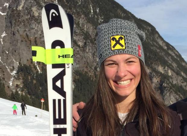 "Carina Dengscherz im Skiweltcup.TV-Interview: ""Nach dem Winter ist vor dem Winter!"" (Foto: Carina Dengscherz / privat)"