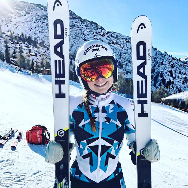 """Dajana Dengscherz im Skiweltcup.TV-Interview: """"Ich glaube mehr an meine Fähigkeiten anstatt an Feen!"""" (Foto: Dajana Dengscherz)"""