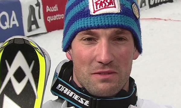 Im prestigeträchtigen Slalom auf dem Ganserlnhang setzte sich Cristian Deville aus Moena durch.