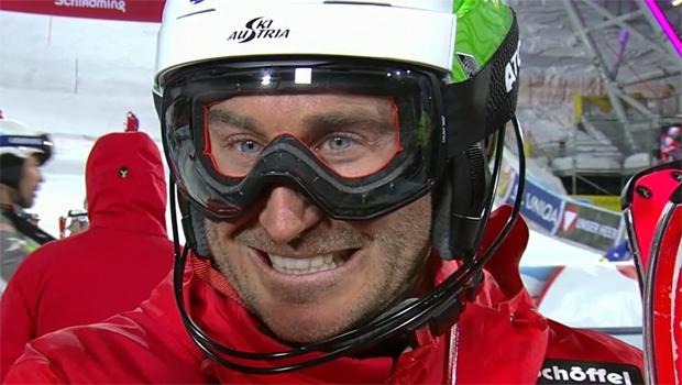 Marc Digruber gewinnt beim ÖM-Slalom die Goldmedaille