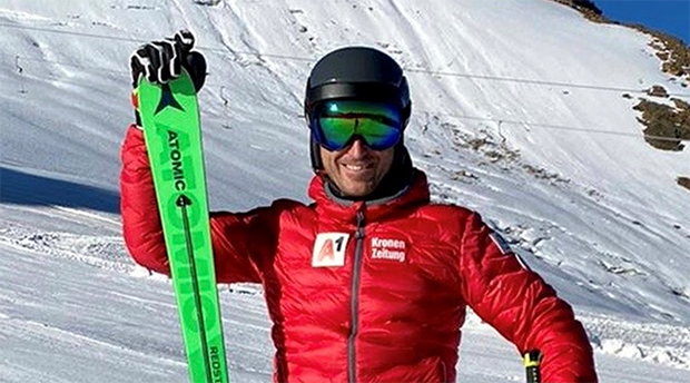 Marc Digruber ist nach seinem ersten Trainingstag zufrieden. (Foto: © ÖSV)