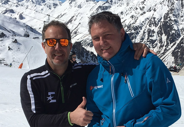 Guido Heuber und Aris Donzelli