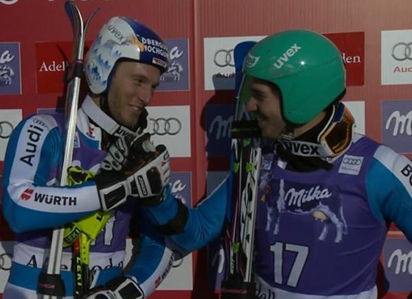 Fritz Dopfer und Felix Neureuther