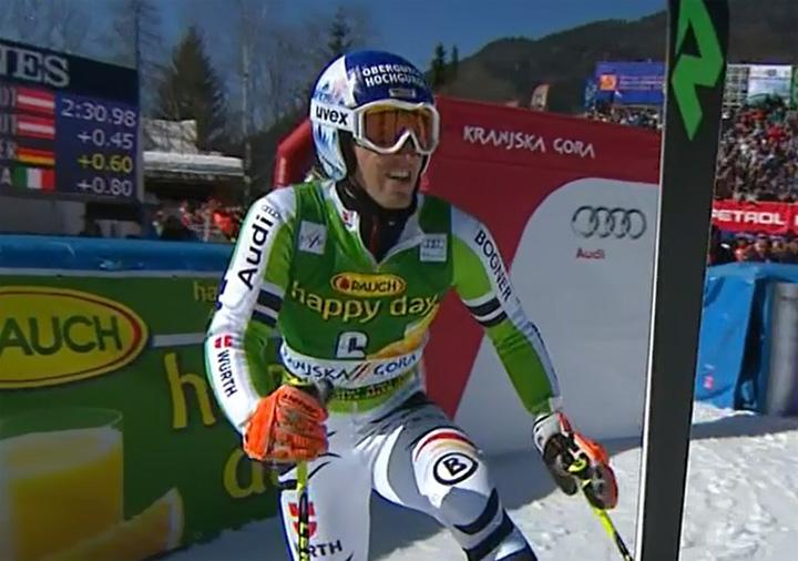 Fritz Dopfer (GER) auf Platz 5