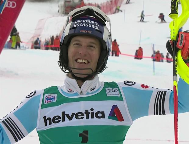 """Fritz Dopfer (GER): """"Die Form stimmt. Ich freue mich auf den Slalom in Wengen"""""""