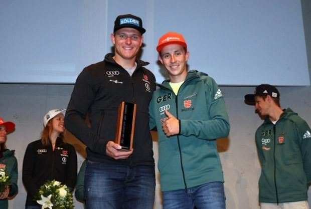 """""""DSV-Skisportler des Jahres 2018"""": Thomas Dreßen gewinnt Sportler-Wahl (Foto: Deutscher Skiverband)"""