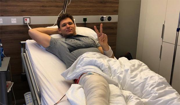 DSV NEWS: Thomas Dreßen erfolgreich operiert (Foto: Thomas Dreßen / Instagram)