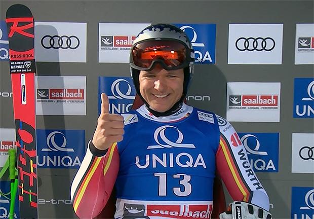 Thomas Dreßen gewinnt Ski Weltcup Abfahrt von Saalbach Hinterglemm 2020