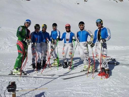 © Deutscher Skiverband / Speed Herrenteam trainiert im Pitztal