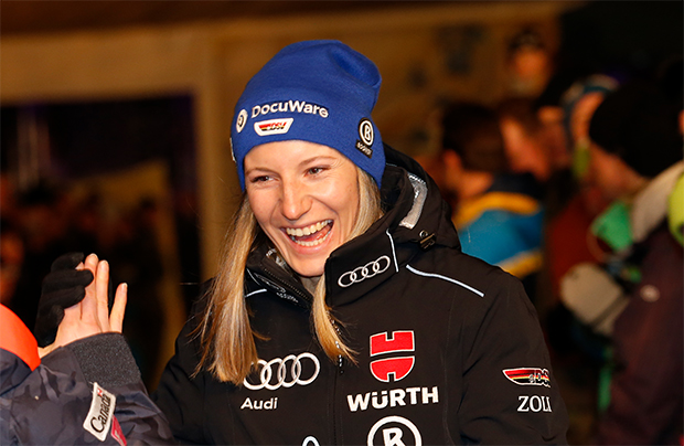 Lena Dürr ist bereit für den Ski Weltcup Auftakt in Sölden (© HEAD/Christophe Pallot/AGENCE ZOOM)