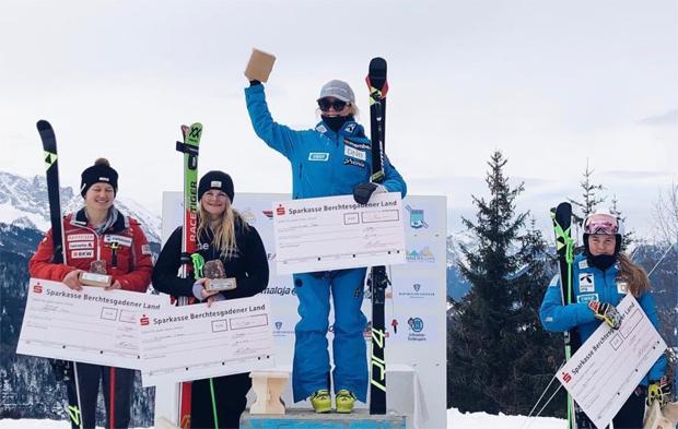 Kaja Norbye dreht mit Sieg beim EC-Riesenslalom in Berchtesgaden den Spieß um (Foto: Kaja Norbye / instagram)