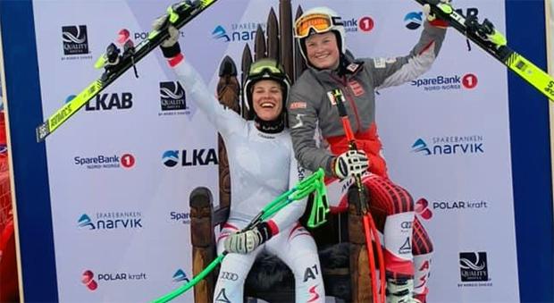 Magdalena Egger und Lisa Grill sorgen für erneuten ÖSV Doppelsieg bei der Junioren-WM