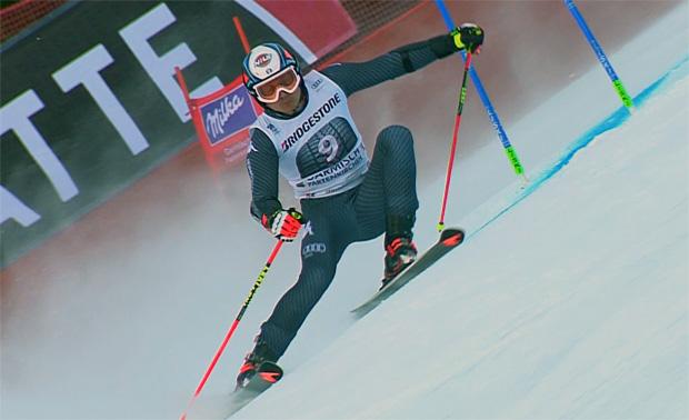 Florian Eisath als Neunter beim Riesentorlauf in Garmisch bester Azzurro