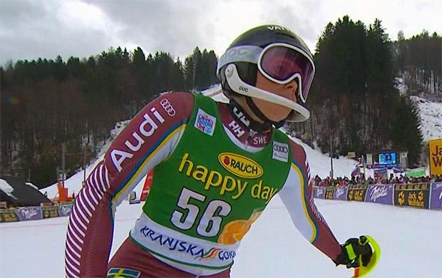 Auch Nathalie Eklunds Saison ist vorzeitig zu Ende