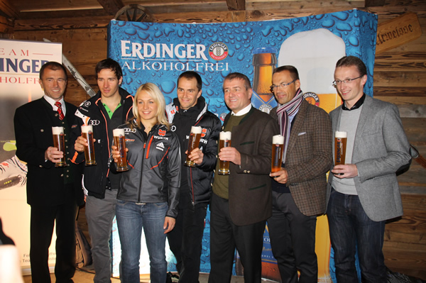 ERDINGER Alkoholfrei Sportgetränke-Partner des DSV