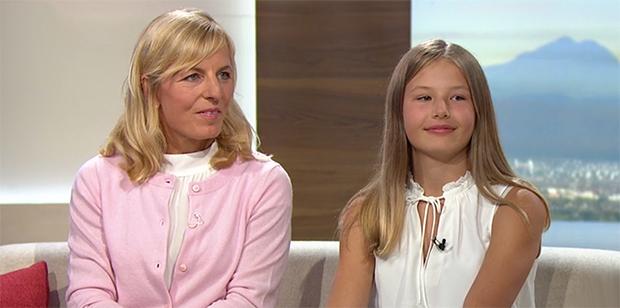 Martina Ertl-Renz und Tochter Romy-Sophia