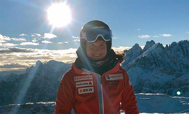 Ski-Rohdiamanten im Gespräch: Heute Lindy Etzensperger aus der Schweiz (Foto: Lindy Etzensperger / privat)