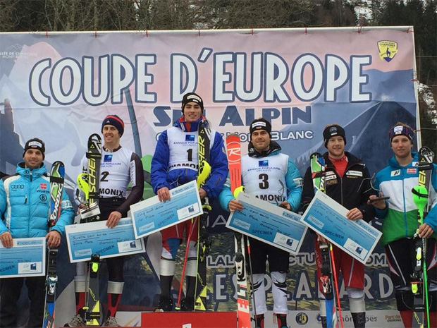 © Caroline Fischer / 2. Europacup Slalom in Chamonix am Samstag