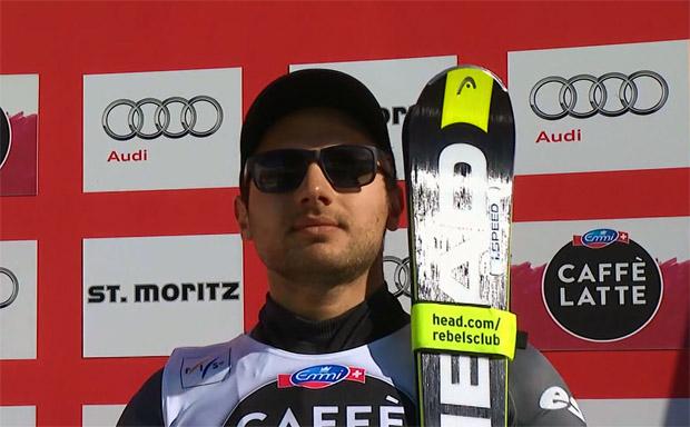 Faivre Mathieu übernimmt Führung beim Riesenslalom in St. Moritz