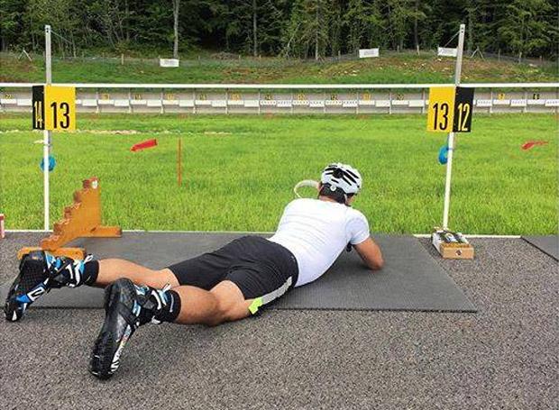 Mathieu Faivre machte im Schießstand eine gute Figur (Foto: Facebook / Mathieu Faivre)