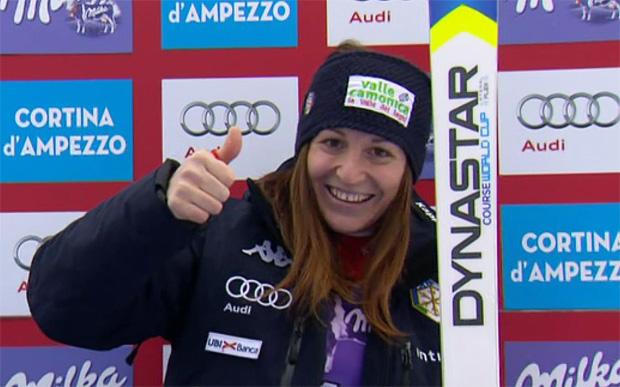 Elena Fanchini gewinnt Freitag-Abfahrt von Cortina d'Ampezzo