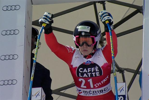 Elena Fanchini krallt sich in den Top-7 fest