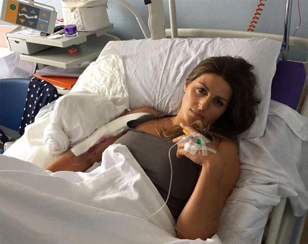 UPDATE: Nadia Fanchini erfolgreich an der rechten Schulter operiert (Foto: Nadia Fanchini / Facebook)