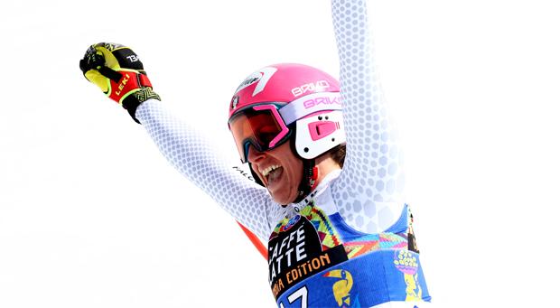 Nadia Fanchini holt sich auch im Super-G die Goldmedaille (Foto: Archivo FISI/Pentaphoto/Alessandro Trovati)