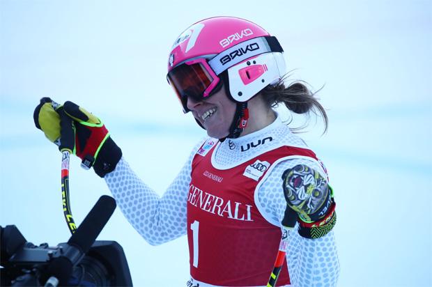 Nadia Fanchini ist immer noch für gute Platzierungen zu haben (© Archivo FISI/Pentaphoto/Alessandro Trovati)