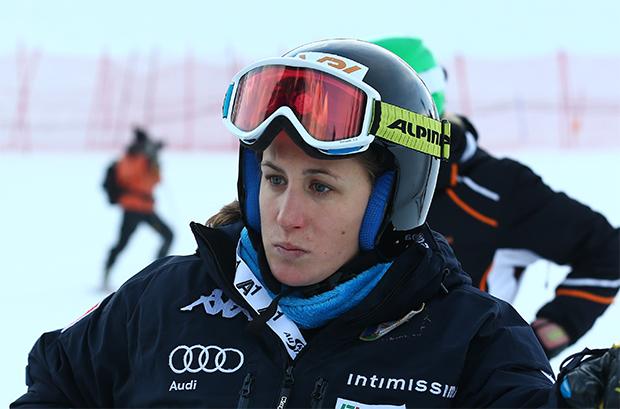 """Die ehemalige italienische Ski Weltcup Rennläuferin Sabrina Fanchini ruft alle auf: """"Bitte bleibt zu Hause!"""" (© Archivo FIS / Gio Auletta/Pentaphoto)"""